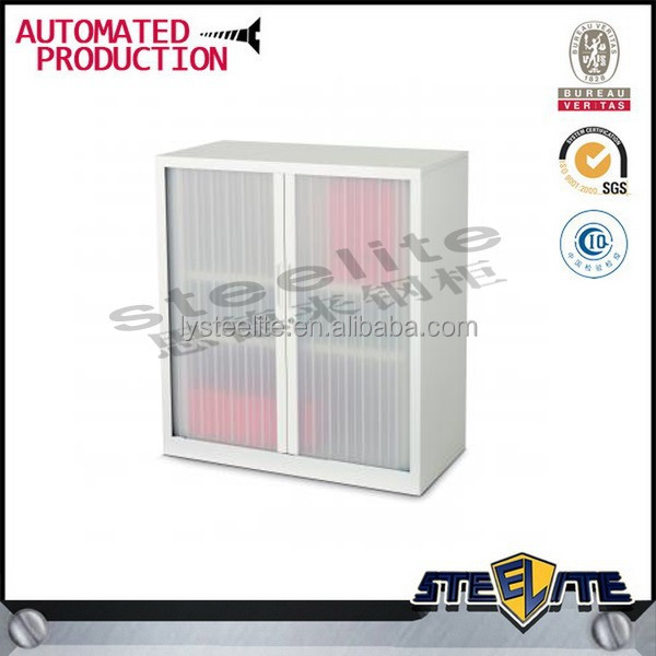 modern steel kitchen cabinet with cabinet roller shutter door