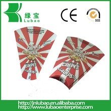 Cone Shaped Packaging Customized Printing Fast Food Paper Cone