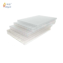 Hot sale PC Sunshine Board/12mm thick polycarbonate hollow sheet