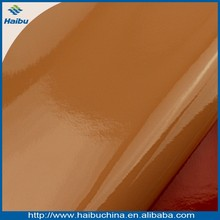 China manufacturer pigskin lining leather shining pu leather synthetic leather upholstery