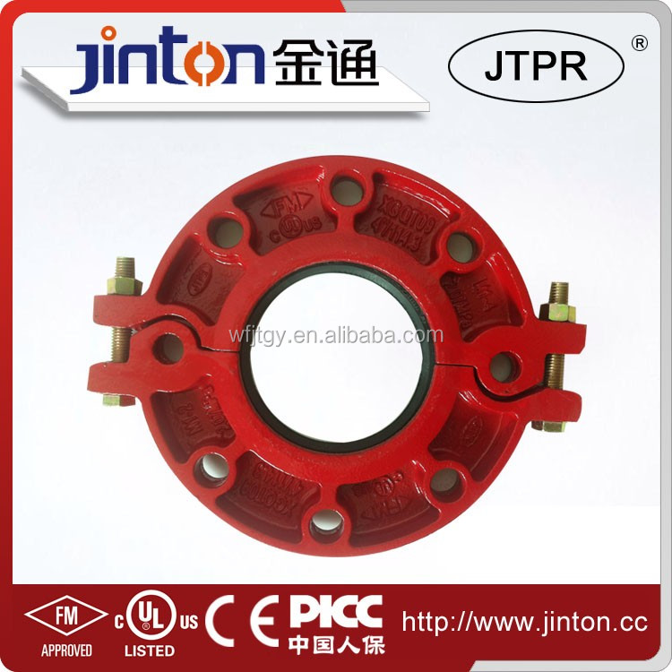 FM UL certificated Ductile Iron ansi reducer flange