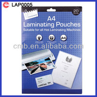20 A4 hologram laminating pouches