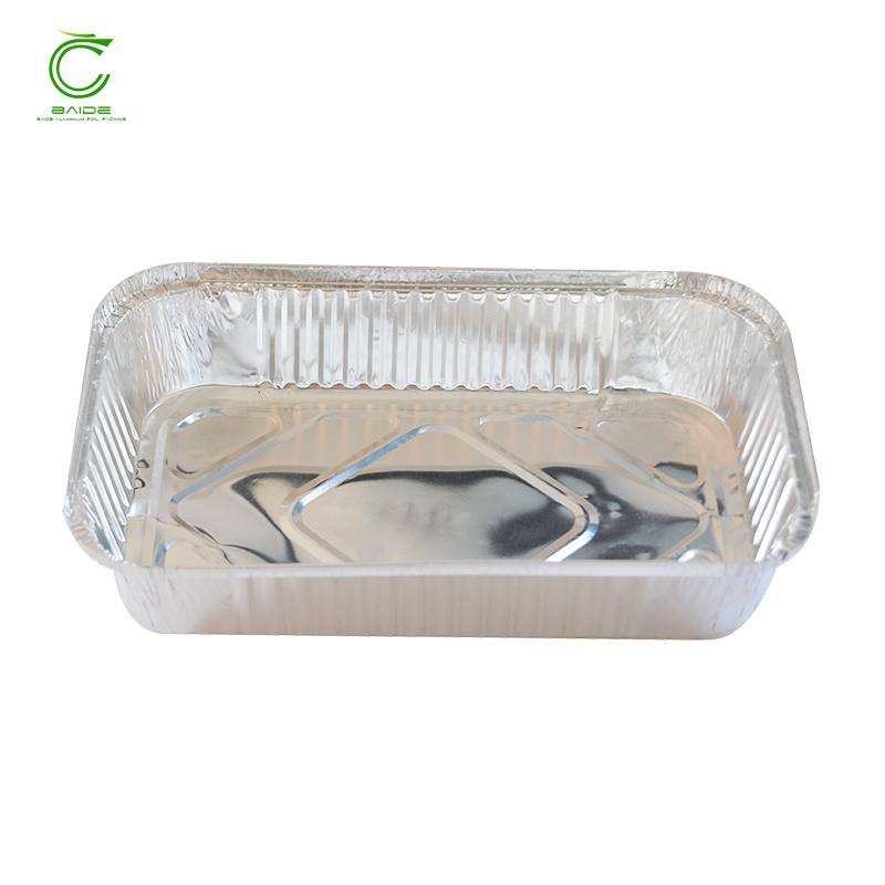 Personalized disposable oven safe food hot box aluminum foil takeaway containers