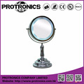 JM936 LED lighting mirror table mirror standing mirror double side magnifying