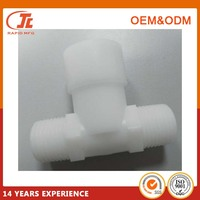 POM Fitting Water Pump Inlet 2 Cavity Mold Injection Moulded Plastic Parts