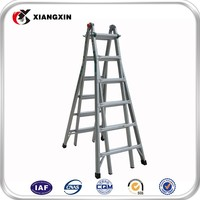multi purpose ultimate long strong fold Aluminum step ladder 4x3 4x4 4x5 4x6 as seen on tv