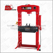 CE Torin BigRed Ball Bearing 50 Ton Hydraulic Shop Press with gauge