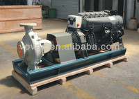 6 inch Deutz air cooled diesel engine centrifugal water pump for irrigation with lowest price