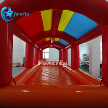 Customized New Water Pool Inflatable Swimming Pool With Tent Cover For Water Games