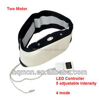 Electric Vibrating Slimming Massage Belt with two motors for slimming purpose