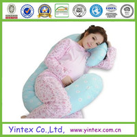 Hot design for pregnant woman cylinder body pillow, pillow factory