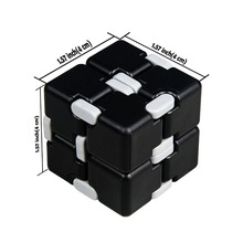 Infinity Cube Fidget Toy Hand Killing Time Fidget Spinner Prime Infinite Cube For ADD, ADHD, Anxiety, and Autism Adult and Child