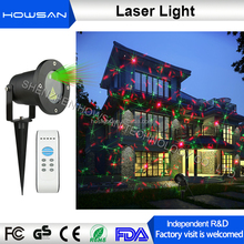 Factory R and D RF remote control Firefly Twinkling Christmas decoration lighting Mini Outdoor Elf Laser Lights