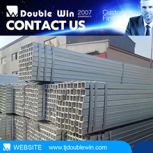 "aluminum tube 24"" galvanized square/rectangular steel pipe hollow section"