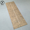 eco wear-resisting natural oem durable Environmental hemp manufacturer tpe yoga mat with eyelet hole