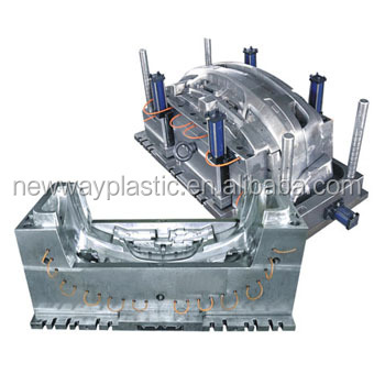 Plastic Injection Mold for Auto Parts with Hot or Cold Runner