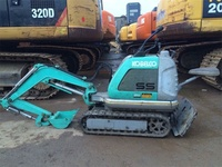 Small Works Small Projects Used Japanese Kobelco SS Mini Excavator with Good Price