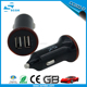 Promotional usb car charger mini usb car charger 5v 2100ma dual usb car charger