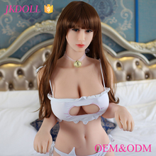 Sex Products Supplies JKDOLL 161cm doll toys life size original silicone sex doll for man