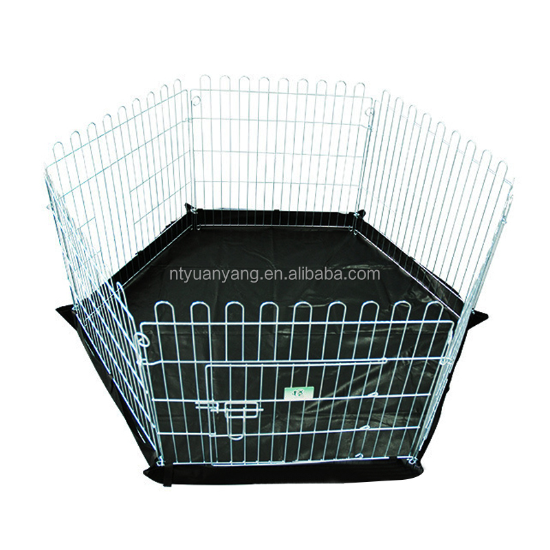 large size metal meterial indoor dog fence