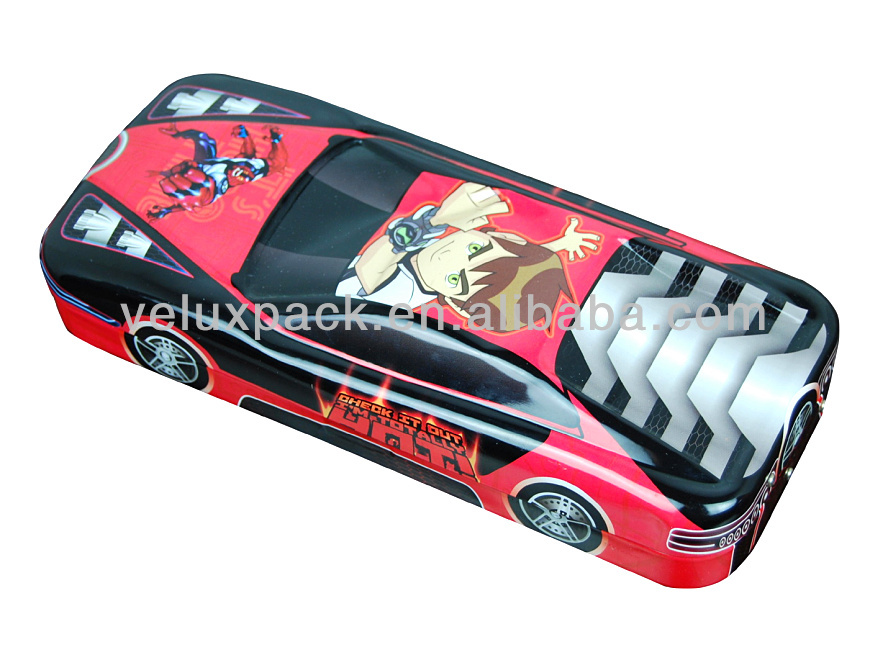 children pencil case, Car Shape Tin Box, Pencil Tin