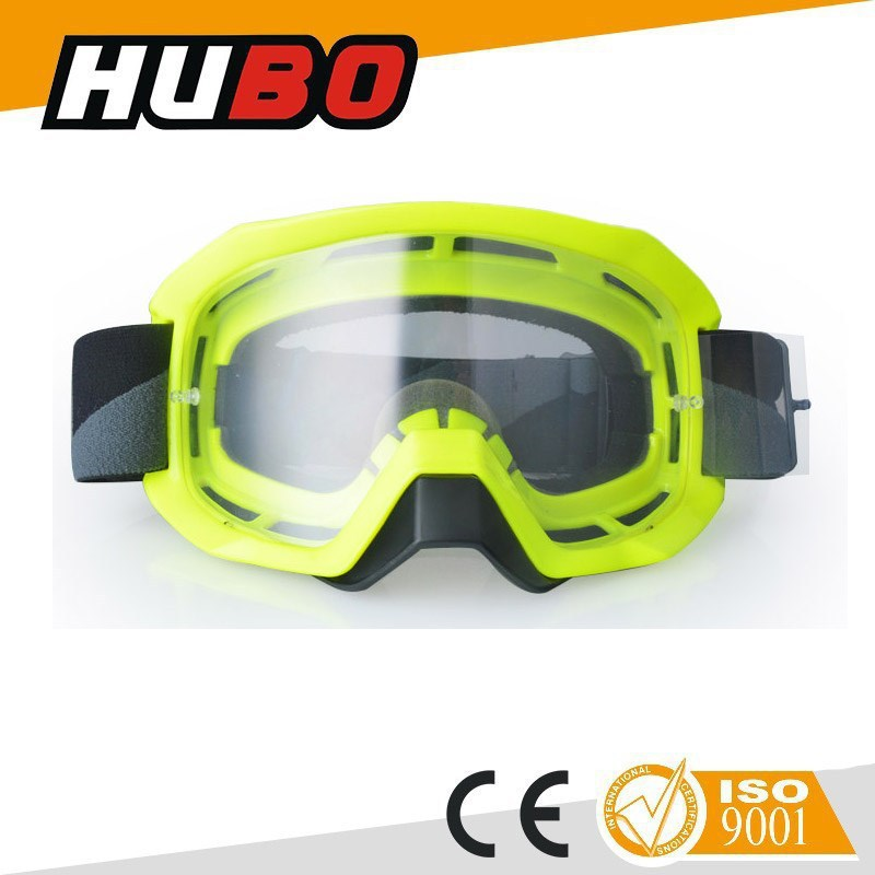 safety dust proof motocross MX racing goggles with tear off