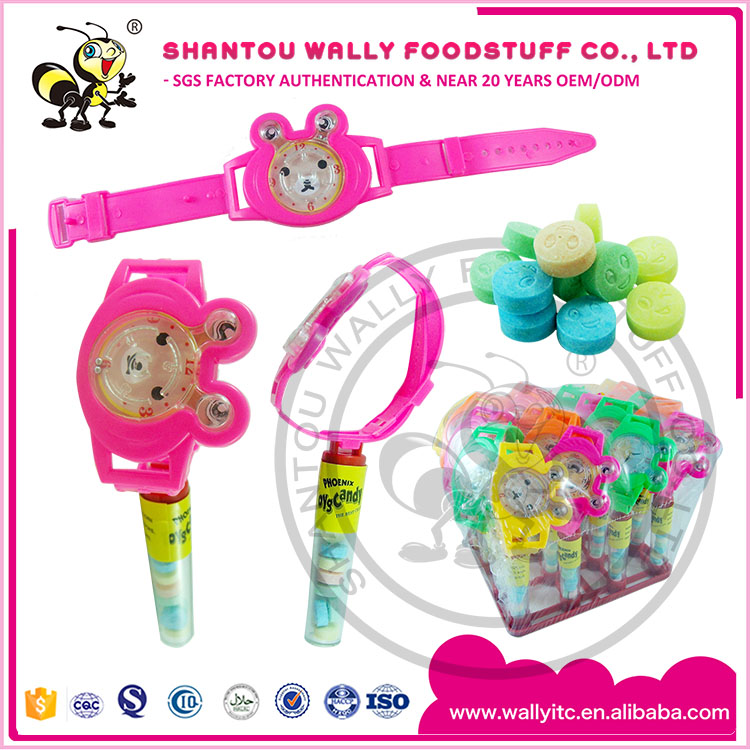 Watch Plastic Toy With Candy Inside