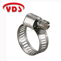 Perforated stainless steel hose clamps S.S. 304 ladder rack mini clamp