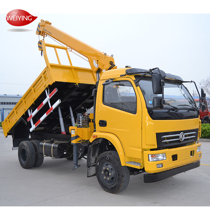 Small 3 Ton Crane trucks for sale in Uae