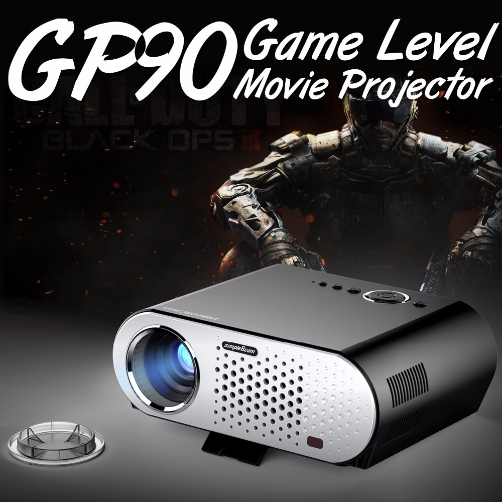 1280x800 TOP Quality simpleBeam <strong>Projector</strong> GP90UP with android for Movie KODI,AC3 support Better than Home theater <strong>projector</strong>
