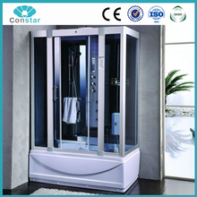 Hot design Steam Rooms Type and Frameless Style Prefab Container House steam shower Room