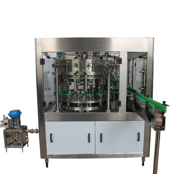Bottle Machine Filling for Washing Filling and Capping Working Beer
