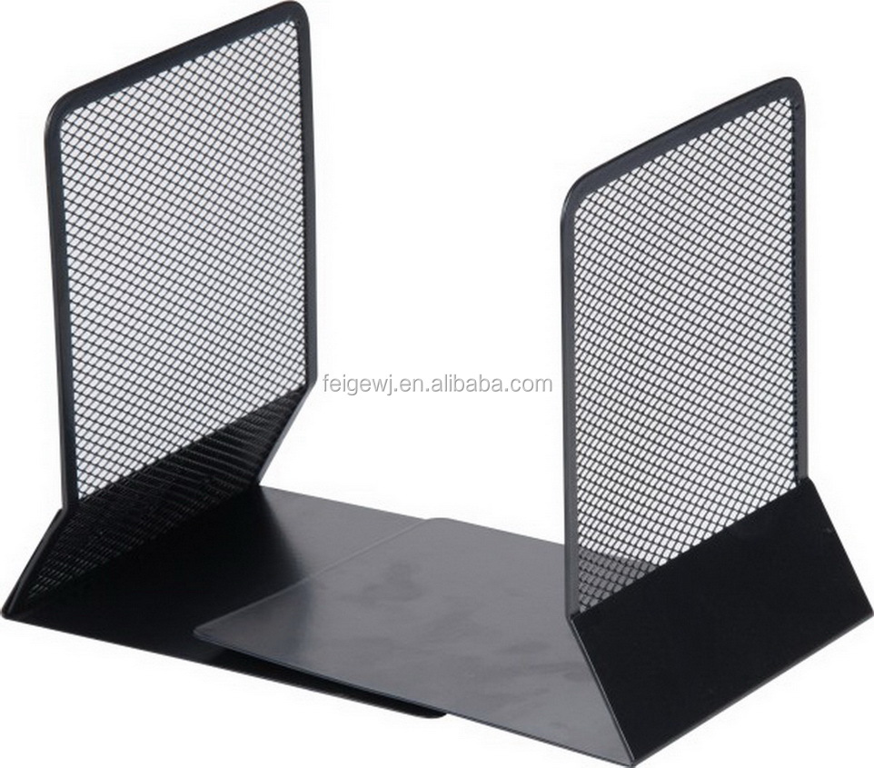 H9036 Wire Mesh Book Ends Metal Mesh Book Ends