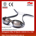 Great price oem design top suitable silicone anti fog swimming goggle