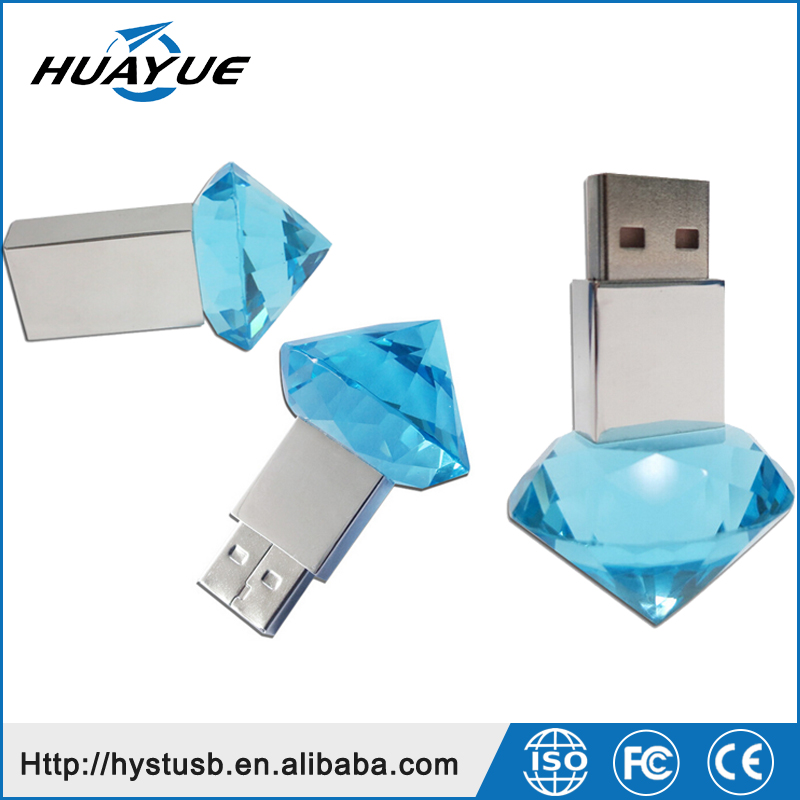 Jewelry Diamond 128MB 512MB 1GB 2GB 4GB 8GB Mini Crystal USB 2.0 Flash Drives