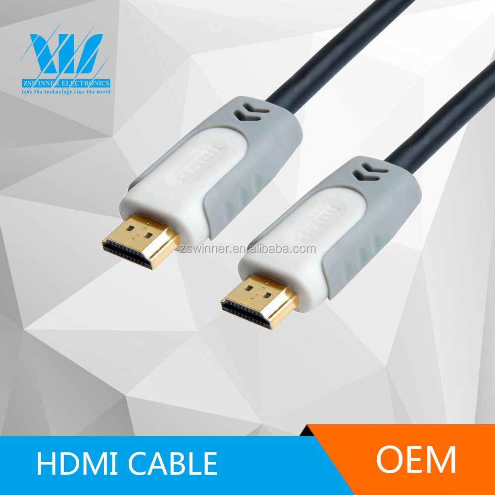 metal casing hdmi cable for dvd player