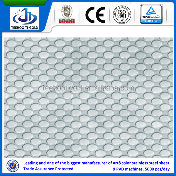 embossing decorative stainless steel sheets for decoration