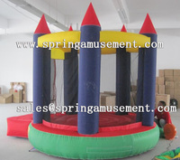 Round bouncing area inflatable castle SP-MB028