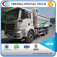 Shacman 6*4 375hp RHD 20 tons Sediment Transport Dump Truck