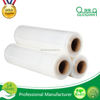 Wholesale Clear Manual Winding LLDPE Jumbo Stretch Packing Film