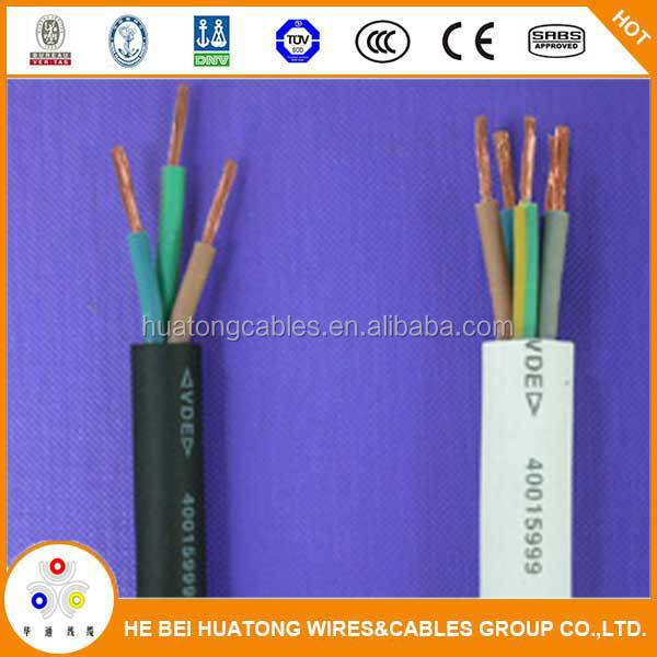 Hot sell 60IEC53(YZ)300/500V copper core rubber flexible cable(YZ)