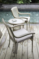 Hot Sell Outdoor Waterproof aluminum director chair with table