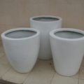 Hot sale fiberglass plant flower pots