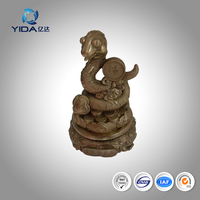 2016 New arrival chinese handicrafts copper snake craft gift
