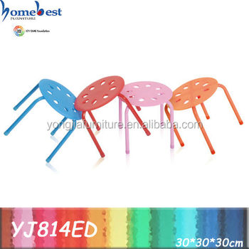Kids Furniture Plastic Stackable Chairs YJ814ED
