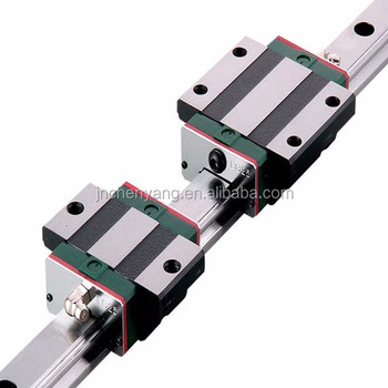 Taiwan Linear Guide Bearing Slide Block HIWIN HGW25CC Linear Motion Guide