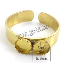 2015 brass wholesale stretch ring base