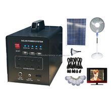 off-grid portable mini solar system for home indoor lighting use with quality sunpower panel