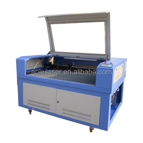 New style applique embroidery laser cutting machine AOL-1290