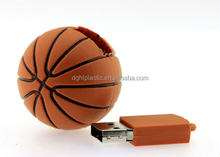basketball shape USB Flash Drive with rubber cover